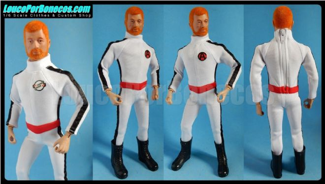LoucoPorBonecos - FALCON - The Lost Scientist version 1 Uniform for Action Man, Gi Joe Etc
